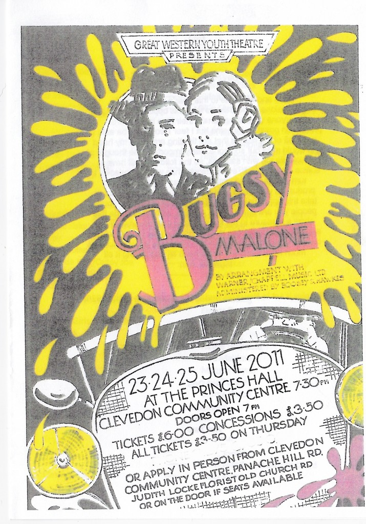 Bugsy Malone Ticket 2011