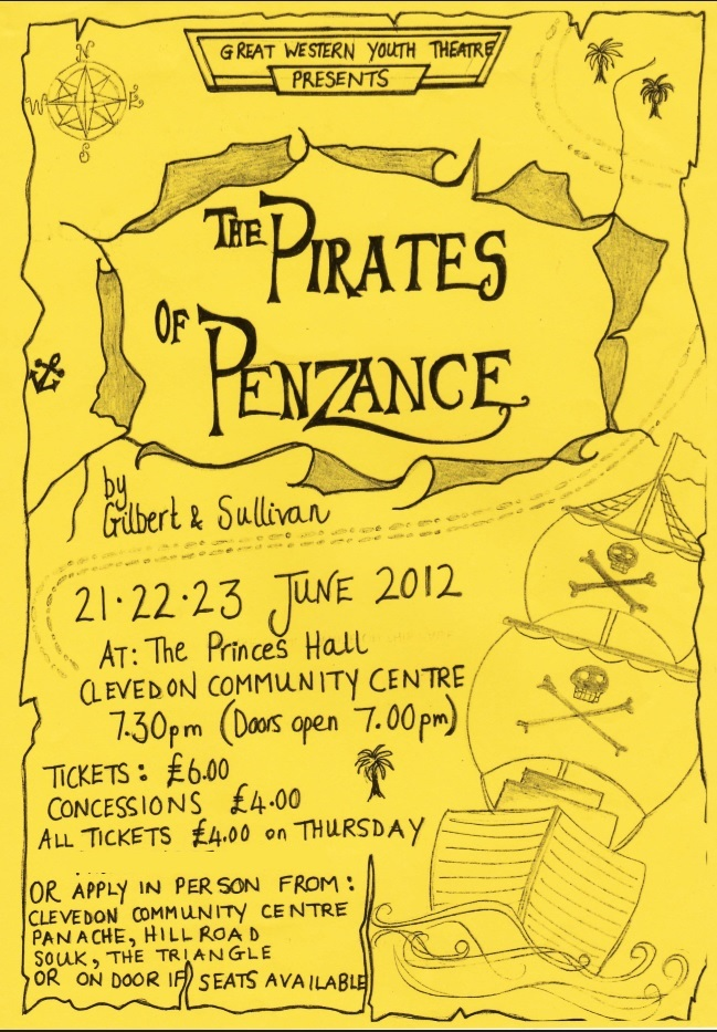 Pirates of Penzance Poster 2010