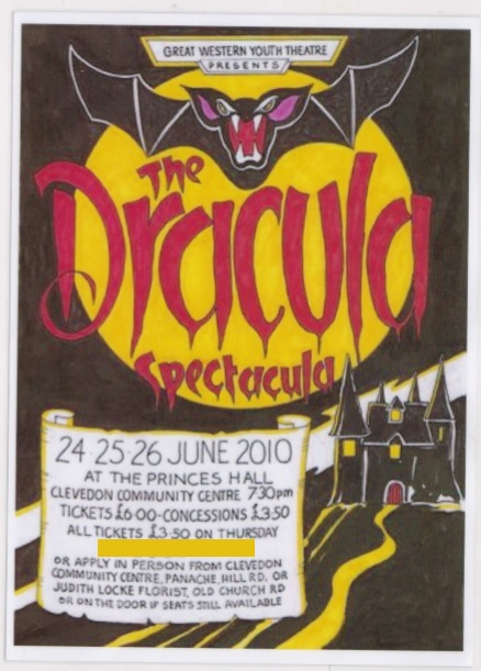 The Dracula Spectacular poster 2010